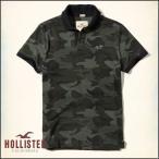 ショッピングホリスター セール ホリスター HOLLISTER ポロシャツ メンズ ストレッチ ピケカモポロ カモフラージュ