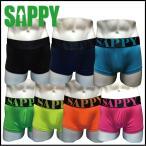 雅虎商城 - ボクサーパンツ ローライズ  メンズ 人気 SAPPY underwear ネオンローライズボクサー D-501