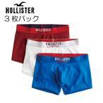 ホリスター HOLLISTER メンズ ボクサーパンツ トランクス 3Pセット