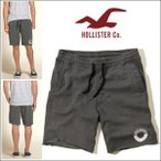 ショッピングFleece ホリスター スウェット  ハーフパンツ フリース ショートパンツ 正規品 Hollister Fleece Jogger Shorts ロゴ 61576 ダークグレー