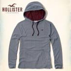 ホリスター パーカー メンズ HOLLISTER  Contrast Print Hoodie 61955 ネイビー