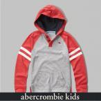 アバクロ キッズ 長袖 パーカー フーディー Tシャツ ボーイズ AbercrombieKids Kids lcontrast henley hoodie 62064 ライトグレー