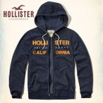 HOLLISTER ホリスター パーカー メンズ プルオーバー フ―ディー Textured Logo Graphic Hoodie 62404 ネイビー