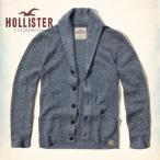 ショッピングホリスター ホリスター HOLLISTER メンズ 長袖 カーディガン ショール Textured Shawl Cardigan 62094 ブルー