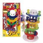 (イケダ) バランスゲームぐらぐらタワー 390142 138258 バランスゲーム げーむ 子供 室内遊び おもちゃ