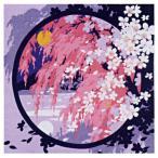 日本の四季 小ふろしき s41-7 春の桜 送料無料 風呂敷 着物 手ぬぐい