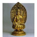 八体仏 虚空蔵菩薩   74-52 長田晴山 床の間 置物 仏具 仏像 銅像