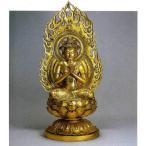 八体仏 普賢菩薩   74-54 長田晴山 床の間 置物 仏具 仏像 銅像