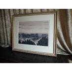 ヒロ、ヤマガタ モンマルトルの眺め シルクスクリーン 絵画 ED有り 全国送料無料