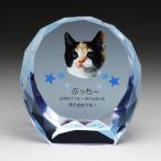 ペットメモリアル位牌 クリスタル フルカラー印刷 KP7U ペットメモリアル記念品 ガラスの位牌