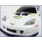 GK◇シボレーコルベットC6.Rレーシングカー◇正規認証車1/24ラジコンカー/ホワイト