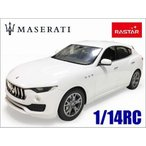 RASTAR◇MASERTI Levante/マセラティ レヴァンテ正規認証車1/14ラジコンカーRC/ホワイト
