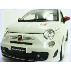 burago/ブラーゴ◇(FIAT/フィアット)ABARTH/アバルト500esseesseホワイトリム/1/24ダイキャストモデルミニカー