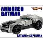 HotWHeels/ホットウィール◇アメコミ「バットマンVSスーパーマン」アーマーバットマン(バットモービル)/ARMORED BATMAN◇ダイキャストモデルミニカー