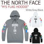 ショッピングトップス ノースフェイス トップス THE NORTH FACE メンズ M'S FLAG HOODIE フラッグ フーディー White Gray Black NM5PI51C NM5PI51B NM5PI51A ウェア