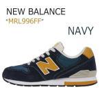 New Balance 996 Navy/Mustard  ニューバランス  MRL996FF