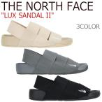 ショッピングNORTH ノースフェイス サンダル THE NORTH FACE メンズ レディース LUX SANDAL II ラックス サンダル 2 ベージュ オックスフォードタン ブラック NS98J05 シューズ