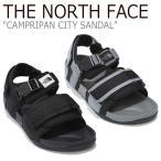 ノースフェイス サンダル THE NORTH FACE メンズ レディース CAMPRIPAN CITY SANDAL キャンプリパン シティーサンダル スポーツサンダル NS98K14A/C シューズの画像