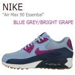 ショッピングNIKE NIKE Air Max 90 Essential BLUE GREY BRIGHT GRAPE MIDNIGHT NAVY ナイキ エアマックス 616730-403 シューズ スニーカー