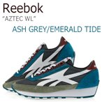 Reebok AZTEC WL Ash Grey Merlot Emerald Tide Hunter Gree リーボック アズテック BS5941
