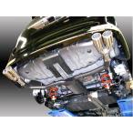 「AMS」70系ノア/ヴォクシー S/Z(ZZR70W/2WD)3ZR-FAE/3ZR-FE用デュアルスポーツマフラー(ハーフステンレス)