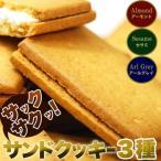 サンド クッキー 3種どっさり48個 訳あり スイーツ 洋菓子 ランキング ネット限定 詰め合わせ お菓子 お取り寄せ 雑誌 テレビ 紹介 掲載