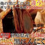ショッピングわけ有 宮崎県産 熟成 黒にんにく 320g 訳あり ランキング 激安 わけあり 訳有 おためし お試し 黒ニンニク