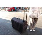 ペット用キャリーバッグ Lサイズ 中型犬 いぬ用 イヌ用 犬用 キャリーカート キャスター付き ショルダーバッグ 旅行 移動 ドライブ
