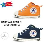 コンバース ベビーオールスター N デジタルビット Z BABY ALL STAR N DIGITALBIT Z  ネイビー オレンジ 37301081 37301080