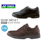 ヨネックス パワークッション カジュアルウォーク YONEX SHW-MC41 ブラック ダークブラウン メンズ・紳士・ウォーキング