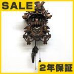 鳩時計 森の時計、木製からくり鳩時計 635QMT