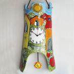 ショッピングイタリア イタリア製、彩色陶器の時 太陽の丘 PRC-81-1