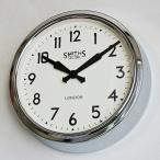 ショッピング掛け時計 掛け時計 直輸入特価 英国 イギリス ロジャーラッセル 製 掛け時計 RETRO/CHROME RLC-SM-RETRO
