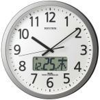 シチズン 掛け時計 アナログ プログラムカレンダー表示405R 4FN405SR19
