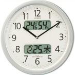 シチズン 掛け時計 アナログ ネムリーナ カレンダー表示M01 4FYA01-019