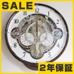 シチズン 掛け時計 からくり時計 電波時計 温度計 湿度計 アナログ スモールワールドシーカー (4MN515RH23) SALE在庫限り45%OFF