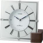 シチズン電波掛時計 置き時計 掛け時計 置き時計  アナログ マリアージュ707 4RY707-003
