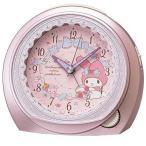 ショッピング目覚まし時計 SEIKO セイコー キャラクター時計 目覚まし時計 クォーツ時計 アナログ マイメロディ CQ143P