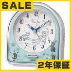 SEIKO セイコー キャラクター時計  目覚まし時計 クォーツ時計 アナログ ディズニー アナと雪の女王 FD475W