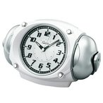 SEIKO セイコー RAIDEN(ライデン) 目覚まし時計 クォーツ時計 アナログ 大音量 NR438W