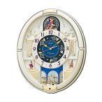 からくり時計 SEIKO セイコー  電波クロック RE572S