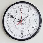 ショッピング壁掛け 掛け時計 船舶掛時計 アナログ タイム&タイド ホワイト (SL-92-611-0198)