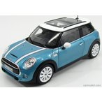 ミニクーパー S ミニカー 1/18 ノレブ NOREV - MINI - COOPER S 2015 ELECTRIC BLEU MET WHITE