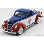 リンカーン ゼファー ペプシコーラ ミニカー 1/18 AUTOWORLD LINCOLN ZEPHYR PEPSI-COLA 1937 BLUE WHITE RED AW205/06