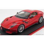 フェラーリ F12 ミニカー 1/18 MR-MODELS - FERRARI - F12 TDF 2016 - CON VETRINA WITH SHOWCASE ROSSO SCUDERIA - RED
