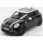 ミニクーパー ミニカー 1/18 ノレブ  NOREV - MINI - NEW MINI COOPER S 2014 BLACK WHITE