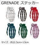 GRENADE ステッカー グレネード スノーボード STICKER 15-16