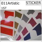 011artistic ステッカー ゼロワンワン アーティスティック 1ST STICKER 15-16