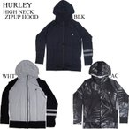 ショッピングhurley HURLEY ハーレー ラッシュガード メンズ 長袖 HIGH NECK ZIPUP RASHGUARD LS パーカー 正規品 2017年モデル サーフ サーフィン