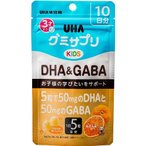 UHA グミサプリKIDS DHA&GABA 10日分 50粒 UHA味覚糖